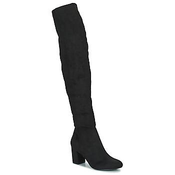 Čevlji  Ženske Mestni škornji    Minelli HALINA Črna
