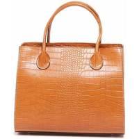 Torbice Ženske Ročne torbice Maison Heritage FAME CAMEL