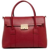 Torbice Ženske Ročne torbice Maison Heritage AMY BORDEAUX