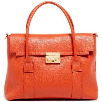 Torbice Ženske Ročne torbice Maison Heritage AMY ORANGE