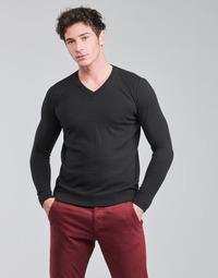 Oblačila Moški Puloverji BOTD OOMAN Črna