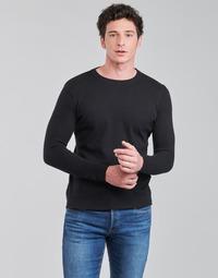 Oblačila Moški Puloverji BOTD OLDMAN Črna