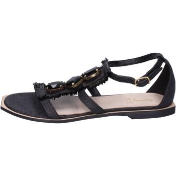 Čevlji  Ženske Sandali & Odprti čevlji Jeannot Sandale BK788 Črna