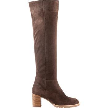 Čevlji  Ženske Visoki škornji Högl Candice Darkbrown Brown