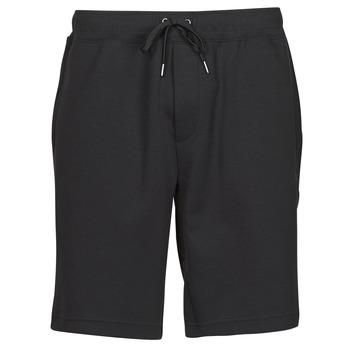 Oblačila Moški Kratke hlače & Bermuda Polo Ralph Lauren SHORT DE JOGGING EN DOUBLE KNIT TECH LOGO PONY PLAYER Črna