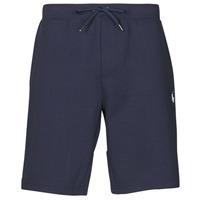 Oblačila Moški Kratke hlače & Bermuda Polo Ralph Lauren SHORT DE JOGGING EN DOUBLE KNIT TECH LOGO PONY PLAYER Modra