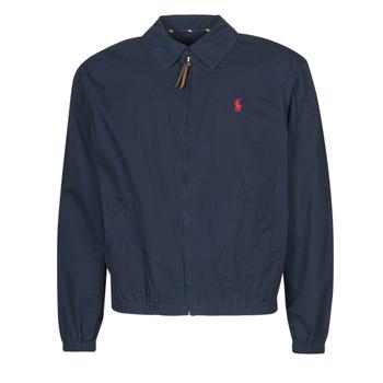 Oblačila Moški Jakne Polo Ralph Lauren BLOUSON BAYPORT EN COTON LEGER LOGO PONY PLAYER Modra