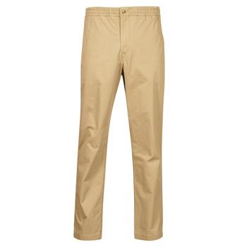 Oblačila Moški Hlače s 5 žepi Polo Ralph Lauren PANTALON CHINO PREPSTER AJUSTABLE ELASTIQUE AVEC CORDON INTERIEU Bež