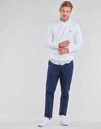 Oblačila Moški Hlače s 5 žepi Polo Ralph Lauren PANTALON CHINO PREPSTER AJUSTABLE ELASTIQUE AVEC CORDON INTERIEU Modra