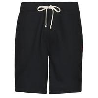 Oblačila Moški Kratke hlače & Bermuda Polo Ralph Lauren SHORT MOLTONE EN COTON LOGO PONY PLAYER Črna
