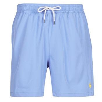 Oblačila Moški Kopalke / Kopalne hlače Polo Ralph Lauren MAILLOT SHORT DE BAIN EN NYLON RECYCLE, CORDON DE SERRAGE ET POC Modra