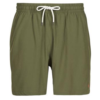 Oblačila Moški Kopalke / Kopalne hlače Polo Ralph Lauren MAILLOT SHORT DE BAIN EN NYLON RECYCLE, CORDON DE SERRAGE ET POC Kaki