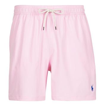 Oblačila Moški Kopalke / Kopalne hlače Polo Ralph Lauren MAILLOT SHORT DE BAIN EN NYLON RECYCLE, CORDON DE SERRAGE ET POC Rožnata