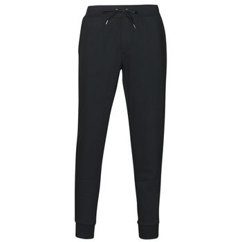 Oblačila Moški Spodnji deli trenirke  Polo Ralph Lauren PANTALON DE JOGGING EN DOUBLE KNIT TECH LOGO PONY PLAYER Črna