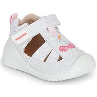 Čevlji  Deklice Sandali & Odprti čevlji Biomecanics 212213 Srebrna / Bela