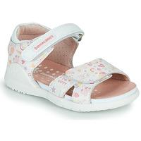 Čevlji  Deklice Sandali & Odprti čevlji Biomecanics 212165 Bela
