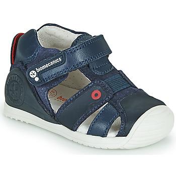 Čevlji  Dečki Sandali & Odprti čevlji Biomecanics 212144 Modra