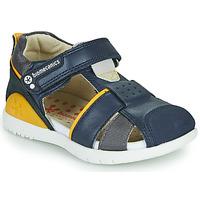 Čevlji  Dečki Sandali & Odprti čevlji Biomecanics 212187 Rumena