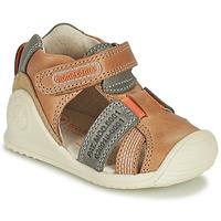 Čevlji  Dečki Sandali & Odprti čevlji Biomecanics 212135 Cognac