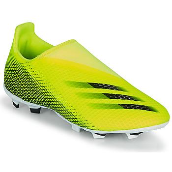 Čevlji  Otroci Nogomet adidas Performance X GHOSTED.3 LL FG J Rumena / Črna