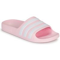 Čevlji  Deklice Sandali & Odprti čevlji adidas Performance ADILETTE AQUA K Rožnata