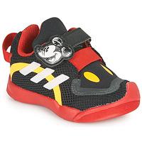 Čevlji  Otroci Nizke superge adidas Performance ACTIVEPLAY MICKEY I Črna / Rdeča
