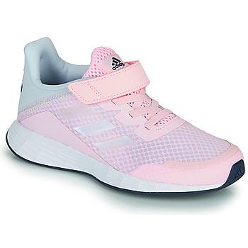 Čevlji  Deklice Nizke superge adidas Performance DURAMO SL C Rožnata
