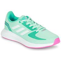 Čevlji  Deklice Nizke superge adidas Performance RUNFALCON 2.0 K Turkizna / Rožnata