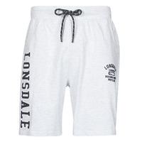 Oblačila Moški Kratke hlače & Bermuda Lonsdale KNUTTON Siva