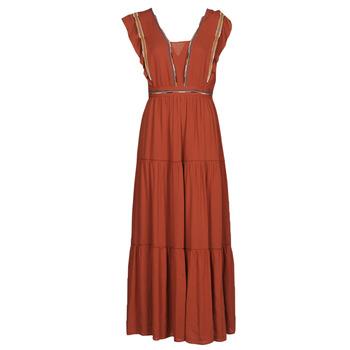 Oblačila Ženske Dolge obleke See U Soon 21121116 Rdeča