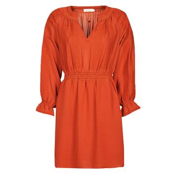 Oblačila Ženske Kratke obleke See U Soon 21122109 Rdeča