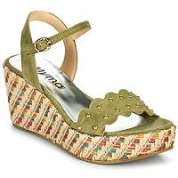 Čevlji  Ženske Sandali & Odprti čevlji Myma POLIDO Kaki