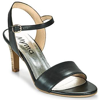 Čevlji  Ženske Sandali & Odprti čevlji Myma POLIDOME Črna