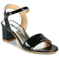 Čevlji  Ženske Sandali & Odprti čevlji Myma POLIDAME Črna