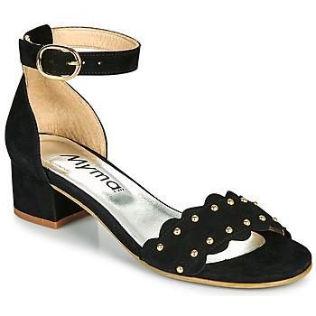 Čevlji  Ženske Sandali & Odprti čevlji Myma POLIVAR Črna