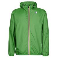 Oblačila Vetrovke K-Way LE VRAI CLAUDE 3.0 Zelena