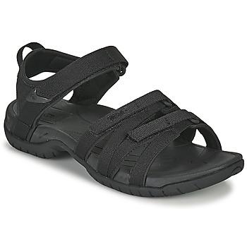 Čevlji  Ženske Sandali & Odprti čevlji Teva TIRRA Črna