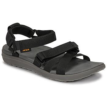 Čevlji  Ženske Sandali & Odprti čevlji Teva SANBORN MIA Črna