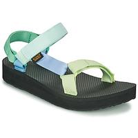 Čevlji  Ženske Sandali & Odprti čevlji Teva MIDFORM UNIVERSAL Zelena