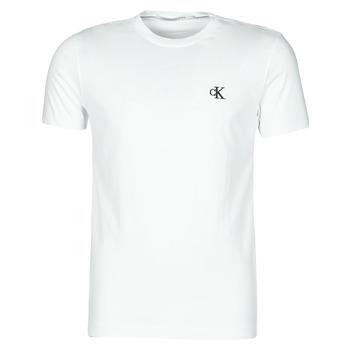 Oblačila Moški Majice s kratkimi rokavi Calvin Klein Jeans YAF Bela