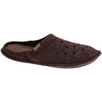 Čevlji  Moški Nogavice Crocs Classic Slipper Rjava
