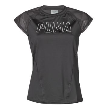 Oblačila Ženske Majice s kratkimi rokavi Puma WMN TRAINING TEE F Črna