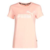 Oblačila Ženske Majice s kratkimi rokavi Puma ESS Logo Tee (s) Morela