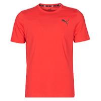 Oblačila Moški Majice s kratkimi rokavi Puma ESS TEE Rdeča