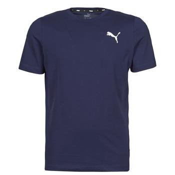 Oblačila Moški Majice s kratkimi rokavi Puma ESS TEE Modra