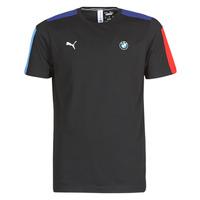 Oblačila Moški Majice s kratkimi rokavi Puma BMW MMS T7 Tee Črna