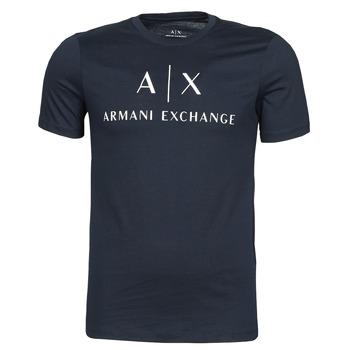 Oblačila Moški Majice s kratkimi rokavi Armani Exchange 8NZTCJ-Z8H4Z Modra