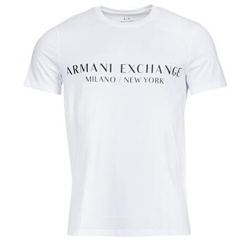 Oblačila Moški Majice s kratkimi rokavi Armani Exchange 8NZT72-Z8H4Z Bela