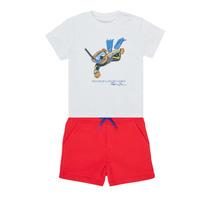 Oblačila Dečki Otroški kompleti Polo Ralph Lauren SOULA Večbarvna