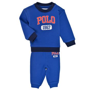 Oblačila Dečki Otroški kompleti Polo Ralph Lauren NOELLE Modra